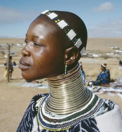 Africa is experiencing a rapid loss of indigenous cultural identity